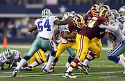 Dallas Cowboys outside linebacker Bruce Carter (54) chases the action during the NFL week 6 football game against the Washington Redskins on Sunday, Oct. 13, 2013 in Arlington, Texas. The Cowboys won the game 31-16. ©Paul Anthony Spinelli