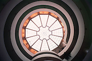 Solomon R. Guggenheim Museum, New York City, New York, designed by Frank Lloyd Wright
