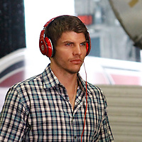 29 January 2012: Chicago Bulls shooting guard Kyle Korver arrives at the arena prior to the Miami Heat game against the Chicago Bulls at the AmericanAirlines Arena, Miami, Florida, USA.