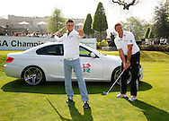 Martin Kaymer at the BMW media sponsorship day at Wentworth<br /> Mandatory credit: Mark Newcombe / visionsingolf.com