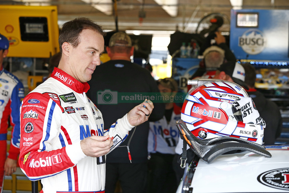 November 3, 2018 - Ft. Worth, Texas, United States of America - Kevin Harvick (4) hangs out in the garage during practice for the AAA Texas 500 at Texas Motor Speedway in Ft. Worth, Texas. (Credit Image: © Justin R. Noe Asp Inc/ASP via ZUMA Wire)