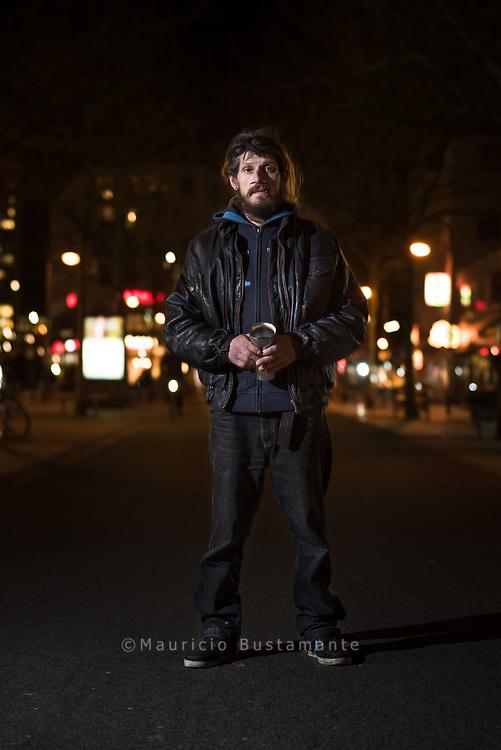 Immer mehr Obdachlose in Deutschland. 25.01.18. Hamburg. Foto Mauricio Bustamante.