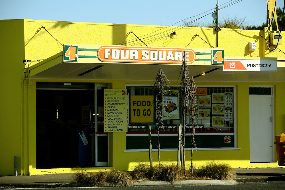 The Four Square Store at Okato in West Taranaki is part of a nation wide chain of stores, New Zealand, May 09, 2007. Credit:SNPA / Rob Tucker