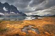 The Ramparts, Tonquin Valley, Jasper National Park Alberta