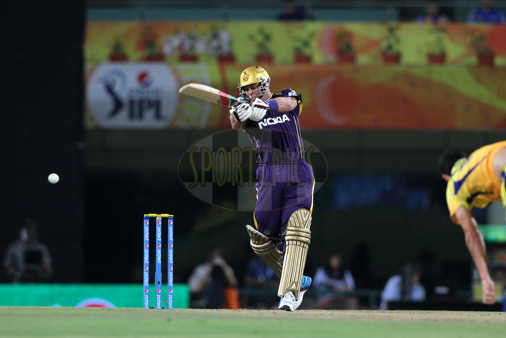 Jacques Kallis of the Kolkata Knight Riders  during match 21 of the Pepsi Indian Premier League Season 2014 between the Chennai Superkings and the Kolkata Knight Riders  held at the JSCA International Cricket Stadium, Ranch, India on the 2nd May  2014<br /> <br /> Photo by Deepak Malik / IPL / SPORTZPICS<br /> <br /> <br /> <br /> Image use subject to terms and conditions which can be found here:  http://sportzpics.photoshelter.com/gallery/Pepsi-IPL-Image-terms-and-conditions/G00004VW1IVJ.gB0/C0000TScjhBM6ikg