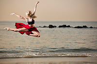 Dance As Art Photography Project- Coney Island Brooklyn, New York with dancer,