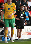 London - Tuesday, August 18th, 2009: Acting Norwich City manager Ian Butterfield during the game between Brentford and Norwich City during the Coca Cola League One match at Griffin Park, London. (Pic by Chris Ratcliffe/Focus Images)