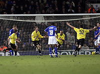 Jay Demerit celebrates after scoring.<br /> Ipswich Town v Watford, Coca-Cola Championship. 22/01/05. Picture by Barry Bland