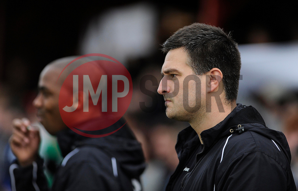 Tamworth Manager, Dale Belford - Photo mandatory by-line: Dougie Allward/JMP - Tel: Mobile: 07966 386802 08/12/2013 - SPORT - Football - Tamworth - The Lamb Ground - Tamworth v Bristol City - FA Cup - Second Round