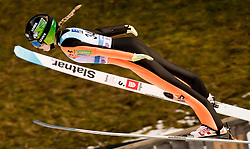 February 8, 2019 - Nika Kriznar of Slovenia on first competition day of the FIS Ski Jumping World Cup Ladies Ljubno on February 8, 2019 in Ljubno, Slovenia. (Credit Image: © Rok Rakun/Pacific Press via ZUMA Wire)