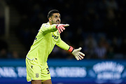 Adam Federici of Stoke City during the EFL Sky Bet Championship match between Sheffield Wednesday and Stoke City at Hillsborough, Sheffield, England on 22 October 2019.