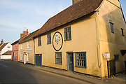 Seventeenth century attractive cottages, Nayland village, Essex, England