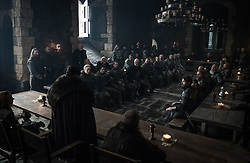 September 1, 2017 - Liam Cunningham, Kit Harington, Sophie Turner, Gwendoline Christie, Tim McInnerny..'Game Of Thrones' (Season 7) TV Series - 2017 (Credit Image: © Hbo/Entertainment Pictures via ZUMA Press)