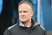 Walsall Manager, Sean O'Driscoll during the Sky Bet League 1 match between Bury and Walsall at Gigg Lane, Bury, England on 16 January 2016. Photo by Mark Pollitt.