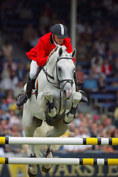 Demeersman Dirk (BEL) - Clinton<br /> CHIO Aachen 2004<br /> Photo © Dirk Caremans