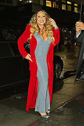 Mariah Carey arrives to the Empire State Building to light it up. 17 Dec 2019 Pictured: Mariah Carey. Photo credit: MEGA TheMegaAgency.com +1 888 505 6342