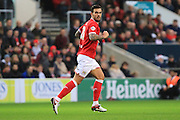 Bristol City midfielder Marlon Pack during the Sky Bet Championship match between Bristol City and Queens Park Rangers at Ashton Gate, Bristol, England on 19 December 2015. Photo by Jemma Phillips.