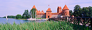 Panoramic view of Trakai Castle