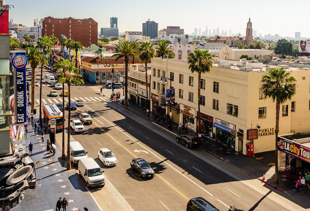 Hollywood Blvd, Hollywood, Los Angeles, California