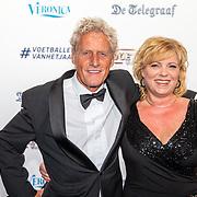 NLD/Hilversum/20190902 - Voetballer van het jaar gala 2019, Kees Kist en partner