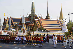 May 5, 2019 - Bangkok, Thailand - Thailand's newly crowned King Maha Vajiralongkorn is seen during of coronation ceremony outside the Grand Palace in Bangkok, Thailand, 05 May 2019. (Credit Image: © Anusak Laowilas/NurPhoto via ZUMA Press)