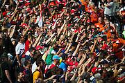 September 3-5, 2015 - Italian Grand Prix at Monza: Ferrari fans
