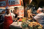 "Istanbul. At the Egyptian Bazar (""Spice Bazar""). Do?ner Kebab."