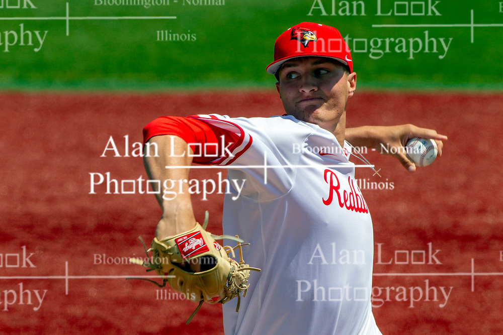 NORMAL, IL - May 01:   Matt Walker during a college baseball game between the ISU Redbirds and the Indiana State Sycamores on May 01 2019 at Duffy Bass Field in Normal, IL. (Photo by Alan Look)
