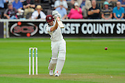 Ryan Davies of Somerset batting during the Specsavers County Champ Div 1 match between Somerset County Cricket Club and Warwickshire County Cricket Club at the Cooper Associates County Ground, Taunton, United Kingdom on 6 September 2016. Photo by Graham Hunt.