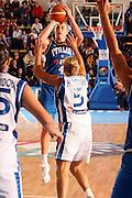 DESCRIZIONE : Chieti Italy Italia Eurobasket Women 2007 Grecia Italia Greece Italy <br /> GIOCATORE : Kathrin Ress<br /> SQUADRA : Nazionale Italia Donne Femminile <br /> EVENTO : Eurobasket Women 2007 Campionati Europei Donne 2007<br /> GARA : Grecia Italia Greece Italy <br /> DATA : 25/09/2007 <br /> CATEGORIA : tiro<br /> SPORT : Pallacanestro <br /> AUTORE : Agenzia Ciamillo-Castoria/E.Castoria<br /> Galleria : Eurobasket Women 2007 <br /> Fotonotizia : Chieti Italy Italia Eurobasket Women 2007 Grecia Italia Greece Italy <br /> Predefinita :