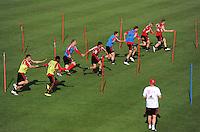 Fussball 1. Bundesliga:  Saison   2011/2012   05.07.2011    Vorbereitung im Trainingslager am Gardasee , Trentino, Riva del Garda FC Bayern Muenchen Allgemein