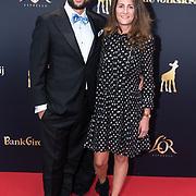NLD/Utrecht/20181005 - L'OR Gouden Kalveren Gala 2018, Kaya de la Rambelje en Kaja Wolffers