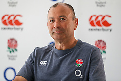 Eddie Jones (Head Coach) of England - Mandatory by-line: Steve Haag/JMP - 14/06/2018 - RUGBY - Hotel Umhlanga - Durban, South Africa - England Rugby Press Conference, South Africa Tour