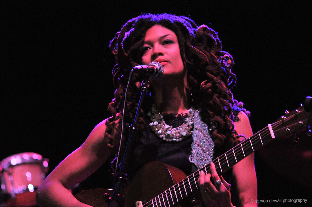 Valerie June performs live at the Wiltern Theatre on March 25, 2014 in Los Angeles