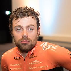 05-01-2018: Wielrennen: Presentatie Team Roompot: Rotterdam<br />Wouter Wippert moet de snelle man vna Team Roompot worden