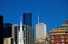 Archival Houston Skylines/Buildings