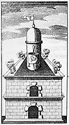 The Hermetic Vessel, c1760. Hermetic vessel in the alchemical furnace. The serpent within the vase symbolises the earthy substances of which the Philosopher's Stone is made. From 'Fr Basilii Valentini Benedictiner Ordens Chymische Schriften'. (Leipzig, 1760?).  Basil Valentine (Basilius Valentinus) is a shadowy 15th century figure. He is supposed to have been a Benedictine monk, and is credited with a deep knowledge of alchemical mysteries. Whether the books attributed to him are his work, or that of a 16th century alchemists who used his name, is open to debate. His famous 'Twelve Keys' (being the twelve stages to the possession of the Philospher's Stone) was first published in 1599 and continued to appear in various languages until the end of the 18th century.