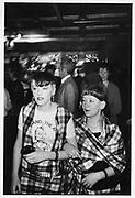 Female Adam Ant fans, London 1980