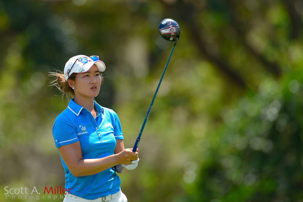 Su Oh during the third round of the Symetra Tour's Chico's Patty Berg Memorial on April 18, 2015 in Fort Myers, Florida.<br /> <br /> &copy;2015 Scott A. Miller