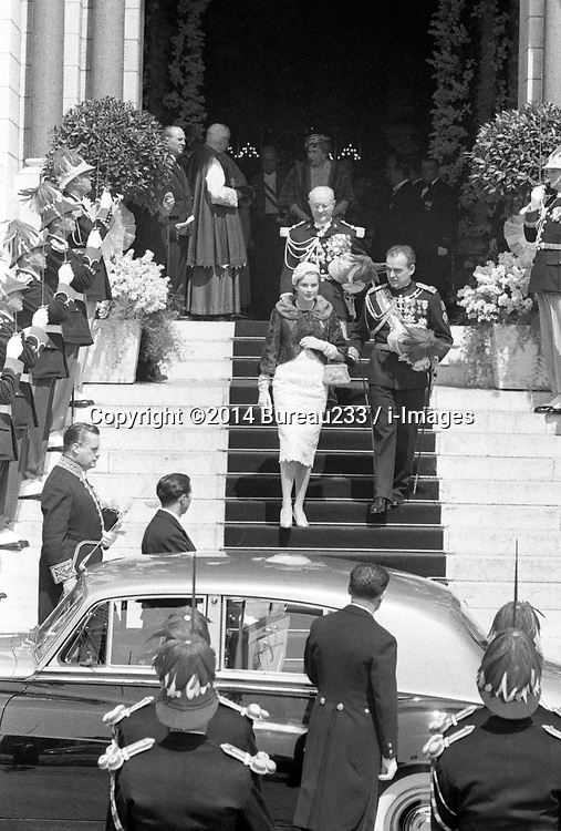 Monaco's family Archive.<br /> Prince Rainier of Monaco and his wife Princess Grace (1929 - 1982) and their family in Monaco,19 November 1963. Photo by Bureau233 / i-Images.<br /> <br /> File photo - Monaco's royal family criticise 'totally fictional' Grace of Monaco film. Monaco's royal family have issued a statement criticising Nicole Kidman's film Grace of Monaco. Photo filed Friday 16th May 2014. <br /> UK ONLY