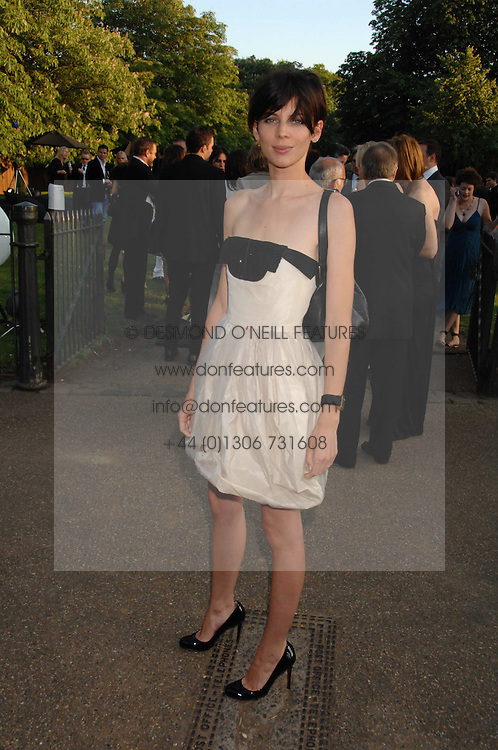 LIBERTY ROSS at the annual Serpentine Gallery Summer Party in association with Swarovski held at the gallery, Kensington Gardens, London on 11th July 2007.<br />