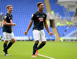 Derby County's Jordan Ibe celebrates.  - Photo mandatory by-line: Alex James/JMP - Mobile: 07966 386802 - 18/10/2014 - SPORT - Football - Reading - Madejski Stadium - Reading v Derby County - Sky Bet Championship