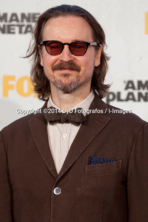 Image ©Licensed to i-Images Picture Agency. 16/07/2014. Madrid, Spain. Director Matt Reeves attends the 'Dawn Of The Planets Of The Apes' premiere at Capitol Cinema. Picture by DyD Fotografos / i-Images<br /> SPAIN OUT