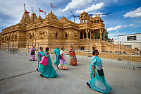 Wembley, United Kingdom: The construction of the Shree Sanatan Mandir, a Hindu temple in northwest London, was completed after fourteen years and £16 million, utilizing artisans and laborers from India