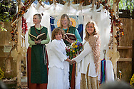 10/19/13 3:28:25 PM -- Jemez Springs, NM  -- Gay Marriage, NM supreme court story-- Therese Councilor and Tanya Struble wedding. <br />