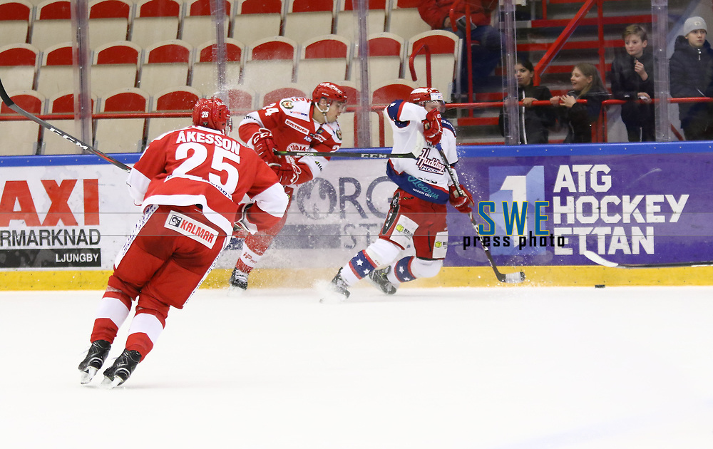 2020-02-12 | Ljungby, Sweden: during the game between IF Troja / Ljungby and Huddinge IK at Ljungby Arena ( Photo by: Fredrik Sten | Swe Press Photo )<br /> <br /> Keywords: Ljungby, Icehockey, HockeyEttan, Ljungby Arena, IF Troja / Ljungby, Huddinge IK, fsth200212, ATG HockeyEttan, Allettan