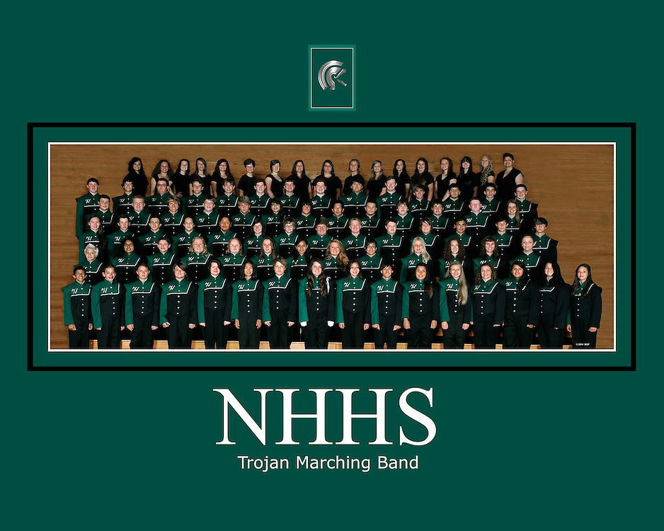 NHHS Trojan Marching Band 2014