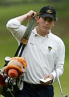 MOLENSCHOT - Robin Swane.     Voorjaarswedstrijd golf 2003 op GC Toxandria. . COPYRIGHT KOEN SUYK