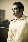 Mahmoud Kaabour, filmmaker, Dubai March 19, 2008