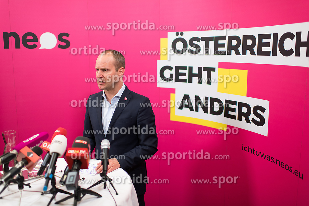 "15.05.2017, Parlament, Wien, AUT, NEOS, Pressekonferenz ""Plenarvorschau und Aktuelles"". im Bild Klubobmann NEOS Matthias Strolz // Leader of the Parliamentary Group NEOS Matthias Strolz during press conference of NEOS in Vienna, Austria on 2017/05/15. EXPA Pictures © 2017, PhotoCredit: EXPA/ Michael Gruber"